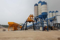 <b>HZS90 Concrete Batching Plant</b>