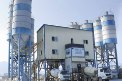 HZS240 Concrete Batching Plant