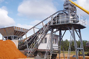 <font color='#FF0000'>Mobile Concrete Batching Plants</font>