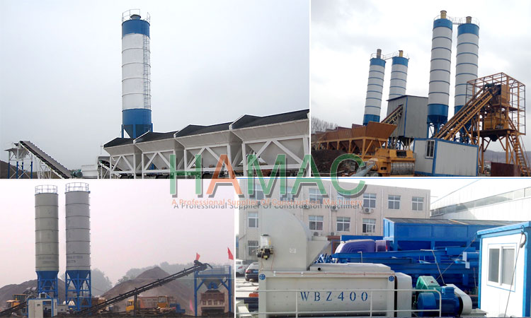 Modular Full-weighing stabilized soil Mixing station